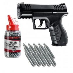 Pack Pistolet XBG 4,5mm CO2...