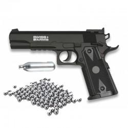 PACK Pistolet 4.5mm P1911...