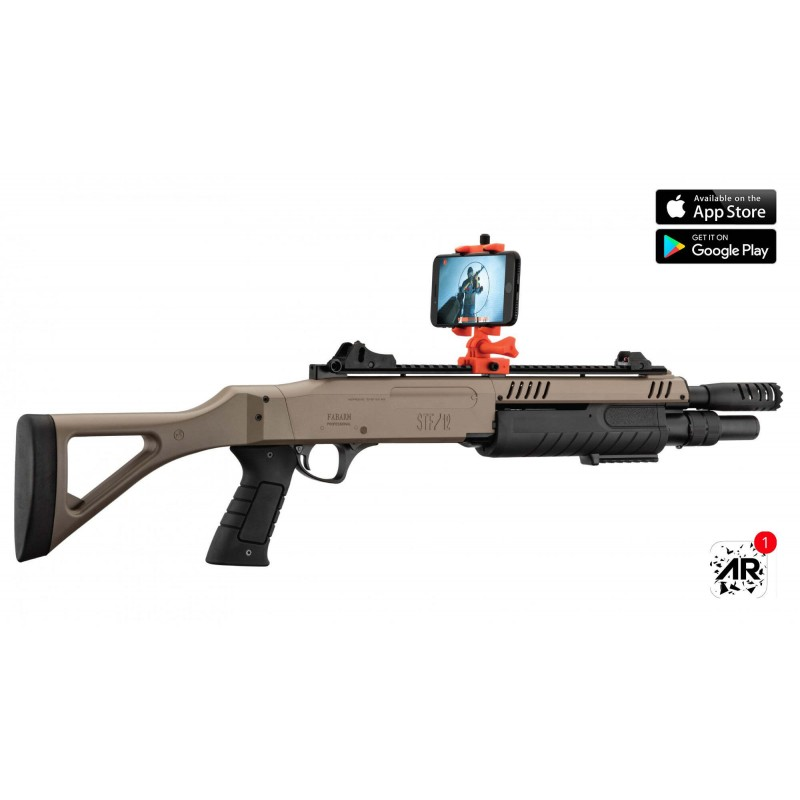 RÉPLIQUE AIRSOFT CONNECTÉE FABARM STF/12-11 COMPACT RESSORT 3 SHOTS 0,8J SHOOTER AR